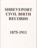 Shreveport Civil Birth Records
